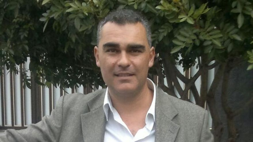 Juan Pablo Andrés Johns, candidato a la secretaría general insular de Podemos en Tenerife.