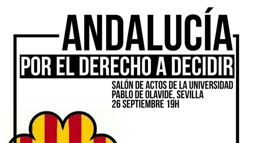La Universidad Pablo Olavide no autoriza en sus instalaciones el acto para informar sobre el referéndum catalán