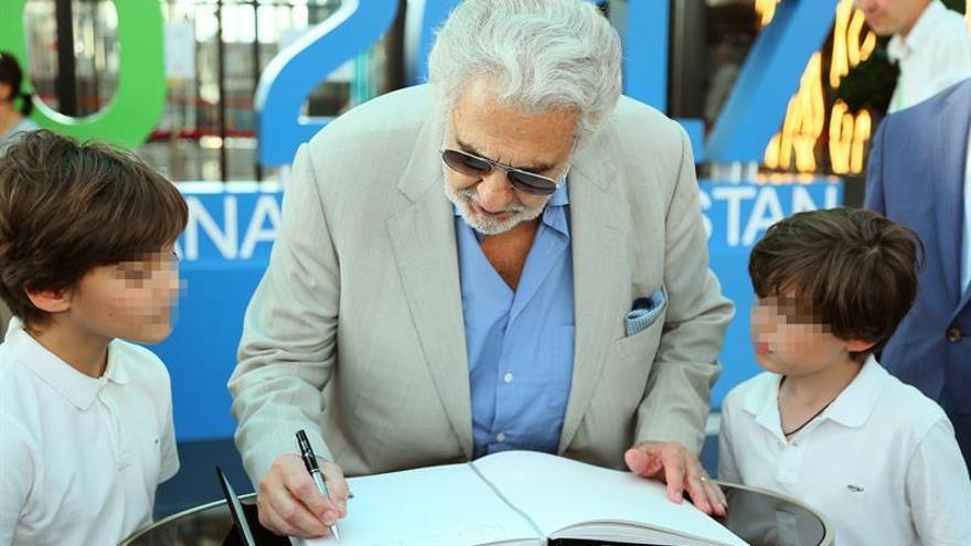 Plácido Domingo: la Expo de Astaná es el triunfo de la ciencia del futuro