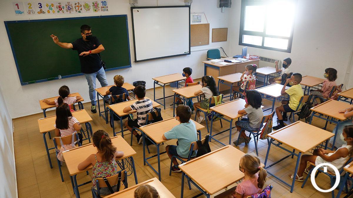Vuelta al cole en el Colegio López Diéguez