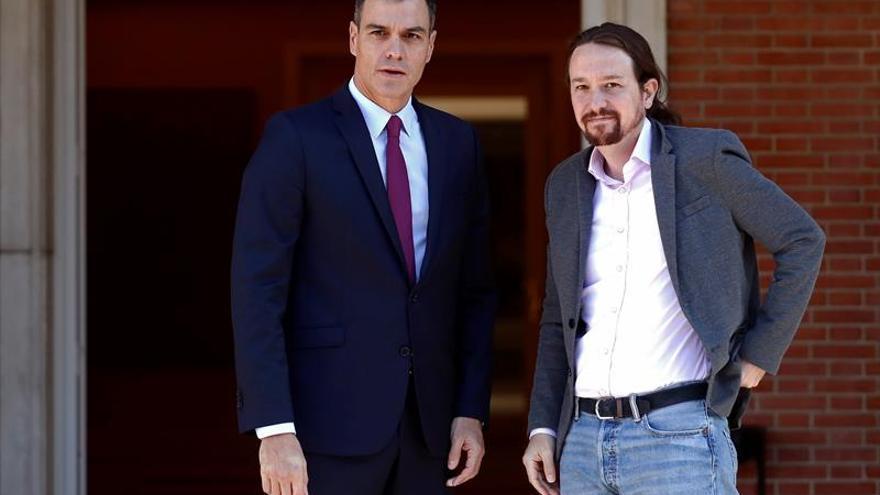 Pedro Sánchez y Pablo Iglesias, los candidatos más madrugadores para votar