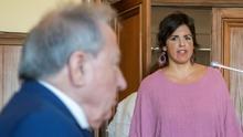 """""""Me sentí un objeto entre esos señores"""": Teresa Rodríguez suma un posible delito de abuso sexual contra el empresario que simuló besarla"""