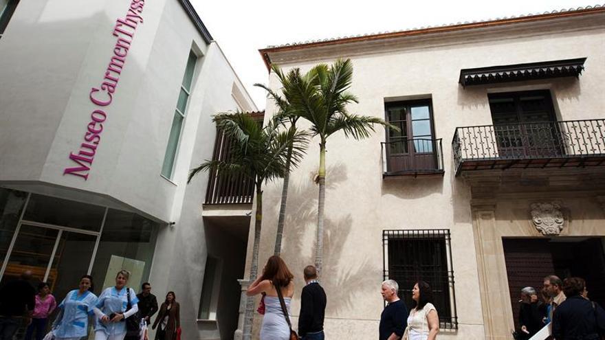 Tres generaciones de realistas dialogan con el pasado en el Thyssen de Málaga