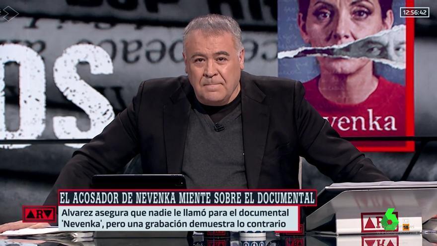 Antonio García Ferreras en 'Al rojo vivo'