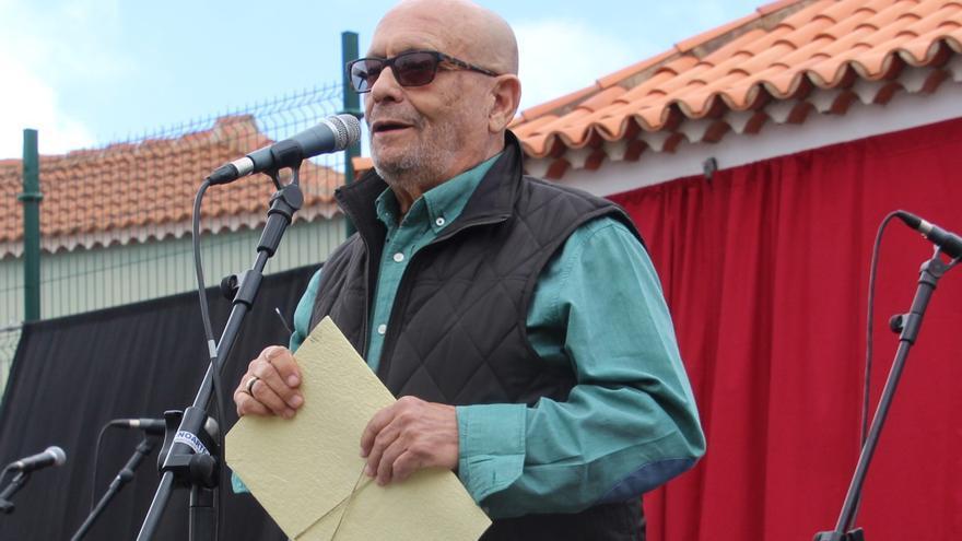 Manuel González 'Bejeque' es el pregonero de las Cruces de Mayo de Breña Alta.