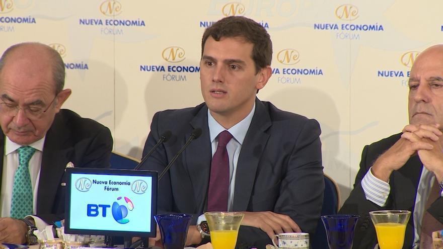 """Rivera ve normal que Savater y Sosa Wagner participen en la campaña electoral en Euskadi porque piensan """"igual"""" que C's"""