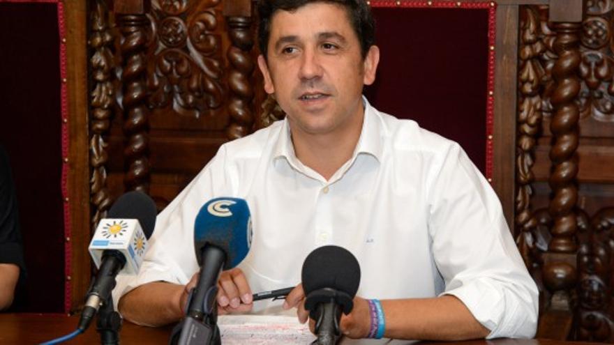 Alberto Fernández (PP), alcalde de Ayamonte.