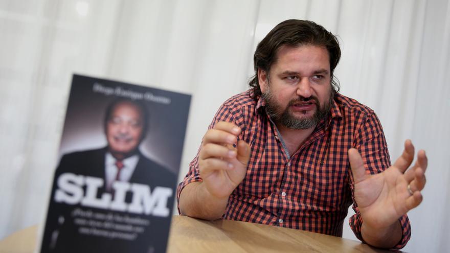 Diego Enrique Osorno, autor del libro Slim.