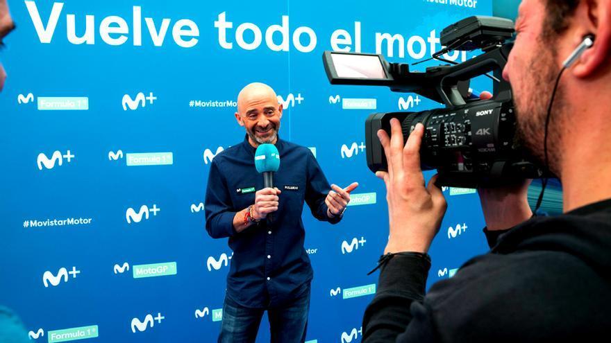 Antonio Lobato, nuevo narrador de la Fórmula 1 en Movistar