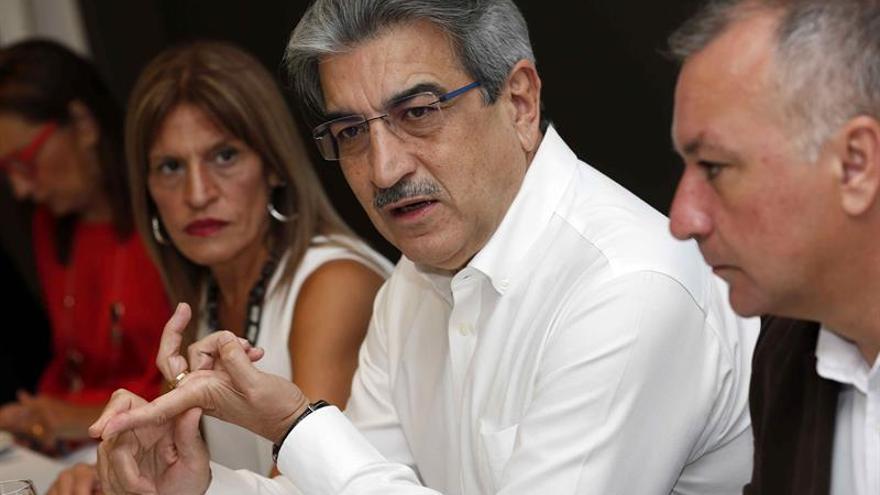 El presidente de Nueva Canarias, Román Rodríguez.  (EFE/Elvira Urquijo A.)