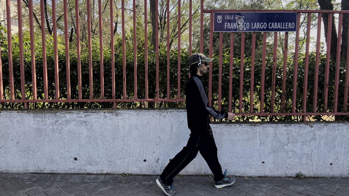 La calle Francisco Largo Caballero, en Ciudad Lineal.