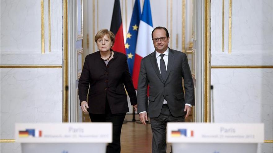 Francia quiere que Alemania se implique más contra el EI en Siria e Irak