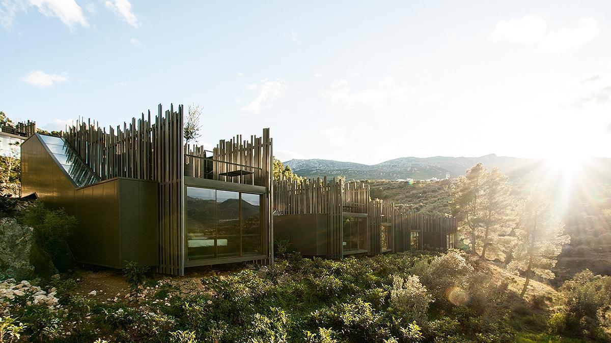 Vivood Hotel Paisaje, ubicado en Benimantell, en pleno valle de Guadalest (Alicante).