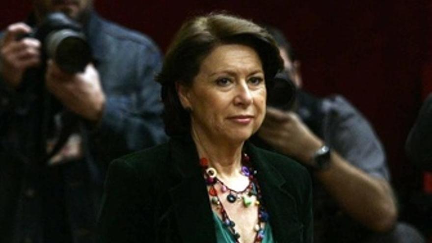 Ministra de Fomento, Magdalena Álvarez