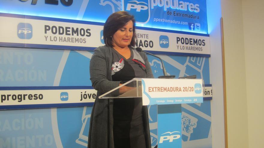 """El PP destaca que """"nunca antes"""" Extremadura ha estado """"tan cerca"""" de ver """"satisfecha"""" su Deuda Histórica como con Monago"""