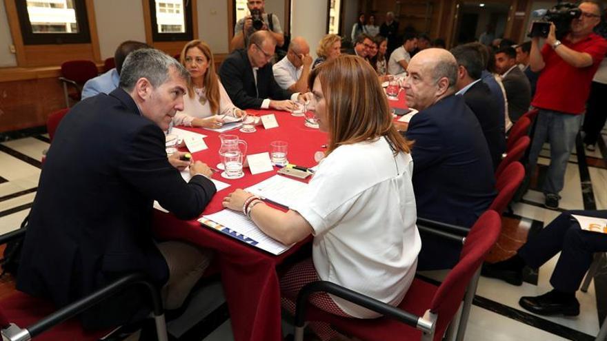 Reunión del Comité Científico y el pleno del Observatorio del Cambio Climático de Canarias junto al Gobierno de las Islas