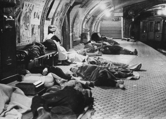 Metro de Madrid, estación de Ventas, 1937, Alfonso Sánchez Portela