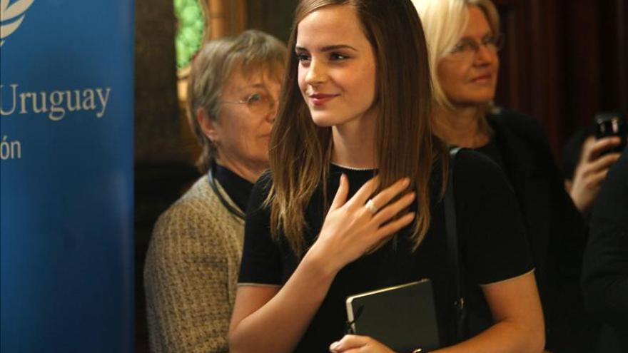 Emma Watson llama a los hombres a unirse a la lucha por la igualdad de género