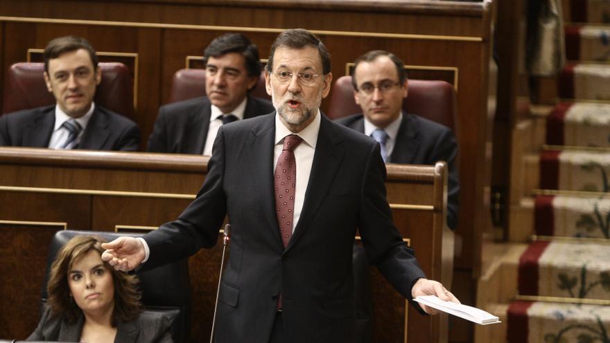 """Rajoy dice que este momento """"difícil"""" es """"transitorio"""" y que """"pronto se podrá hablar de crecimiento y empleo"""""""