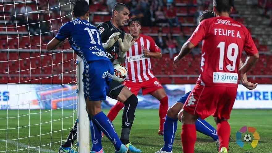 El CD Tenerife no suma en su visita al Girona FC (2-0) (LFP)