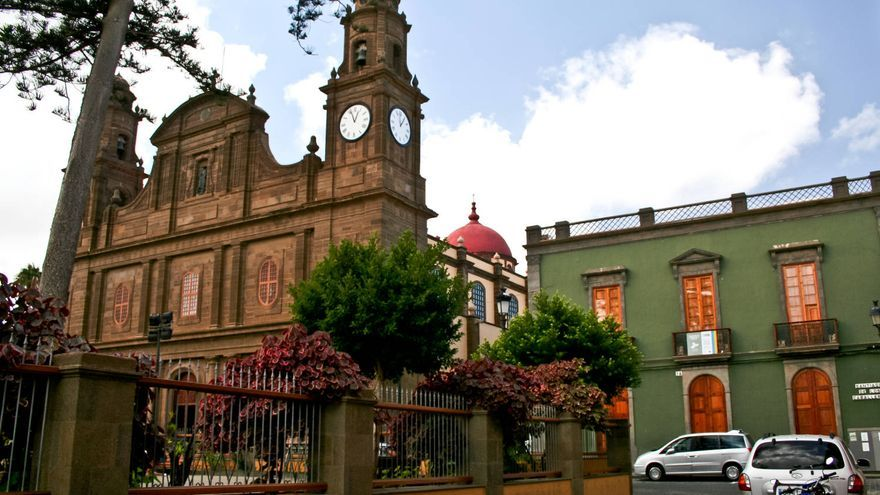 La Iglesia de Santiago, en Gáldar, es el punto de partida del Camino de Santiago en Gran Canaria. VA