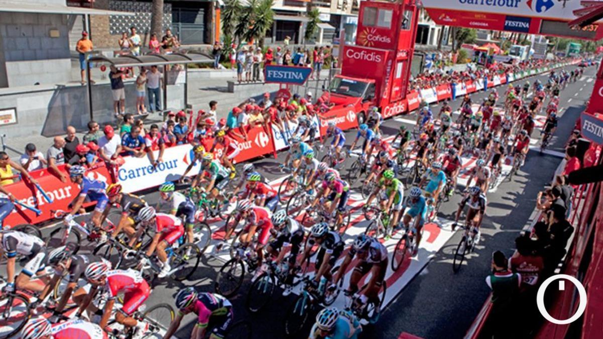Imagen de una edición anterior de La Vuelta a su paso por Córdoba