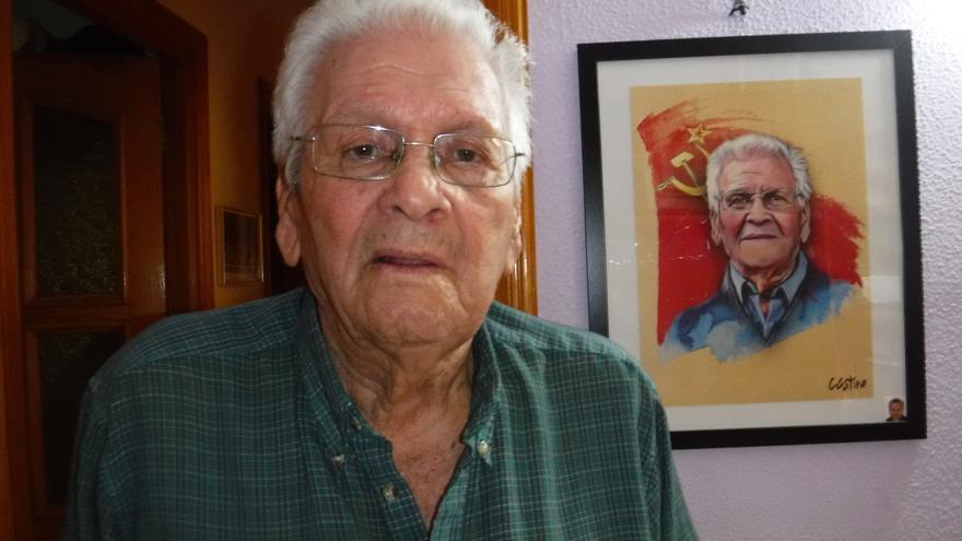 Domingo Santana Armas, histórico militante del PCE