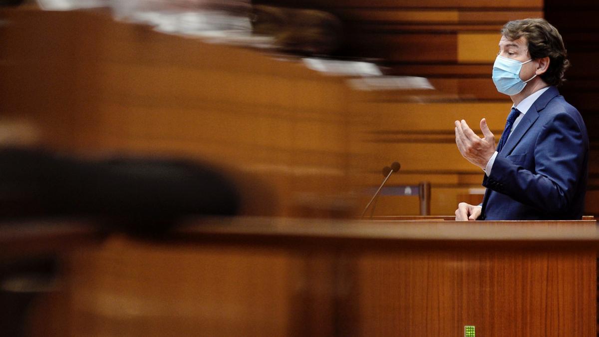 El presidente de la Junta de Castilla y León, Alfonso Fernández Mañueco en una imagen de archivo. EFE/NACHO GALLEGO