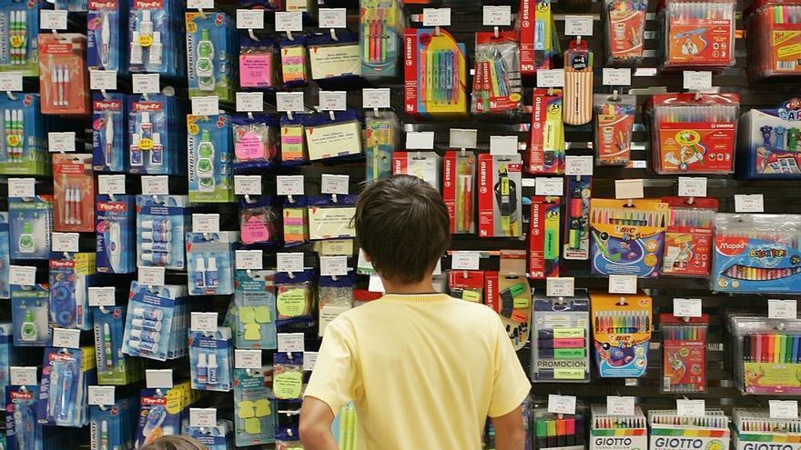 Los padres navarros gastarán 395 euros por hijo en la vuelta al colegio, según Irache