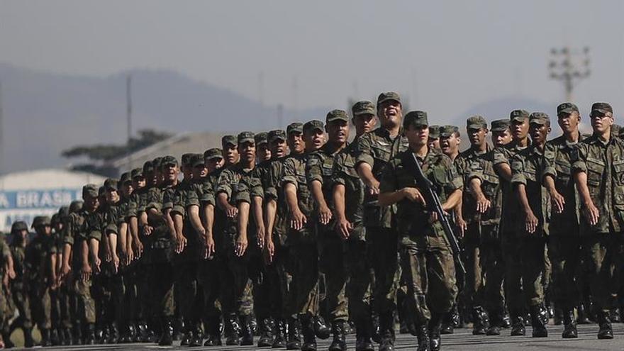 Unos 1.000 militares realizarán inspecciones en las cárceles de Brasil