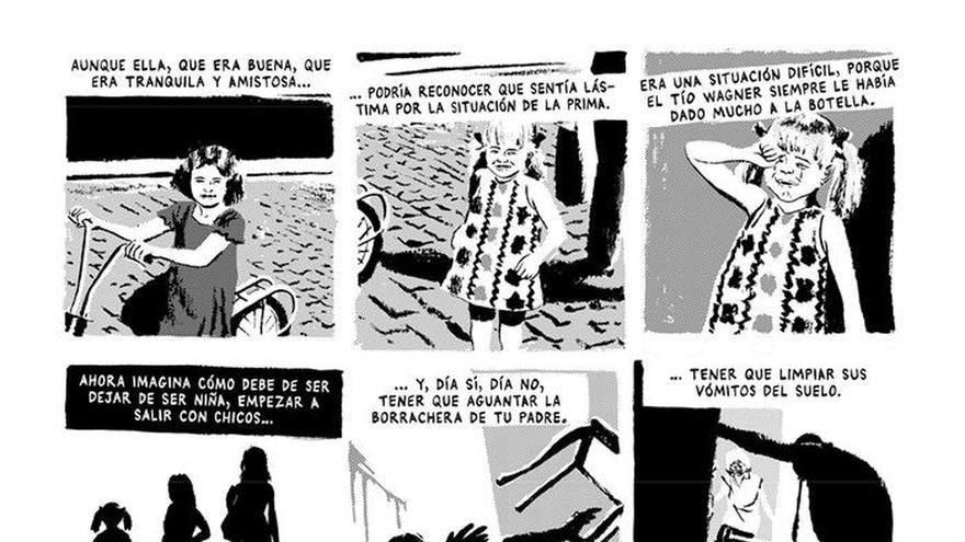 """""""Talco de vidrio"""", viñetas que arañan y analizan el alma"""