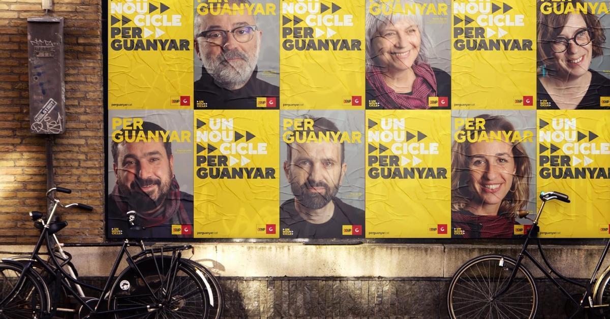 """La CUP reduce """"al mínimo"""" los actos presenciales de su campaña electoral para el 14F"""