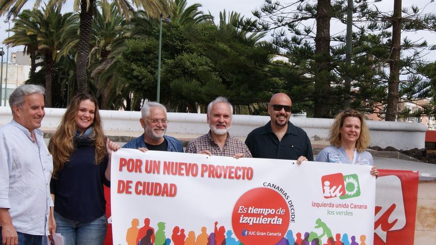 Presentación de la coalición Canarias Decide.