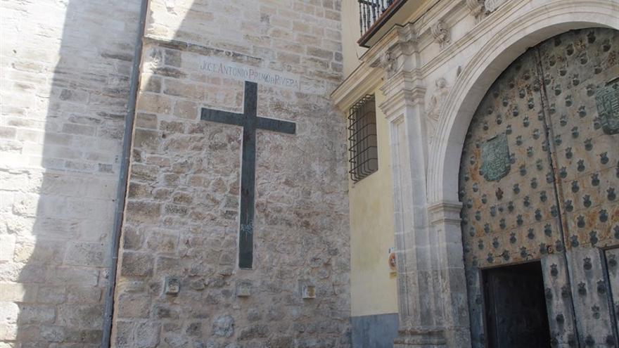 Alusiones a Primo de Rivera en la catedral de Cuenca