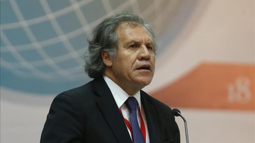 Almagro evalúa las garantías electorales en Venezuela a falta de una misión de la OEA