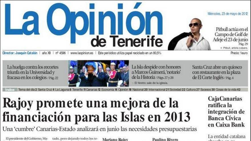 De las portadas del día (23/05/2012) #5