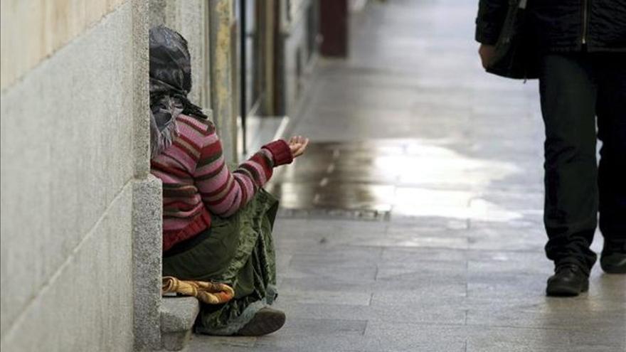 Más de 300.000 vascos viven en el umbral de la pobreza.