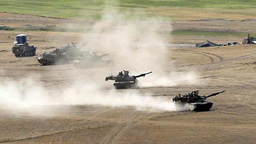 Siete países de OTAN y sus socios participan en maniobras en Georgia