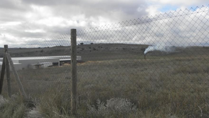 Terrenos de la planta de biomasa de Cuenca / Foto: lasnoticiasdecuenca.es