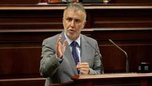 Ángel Víctor Torres durante su intervención.