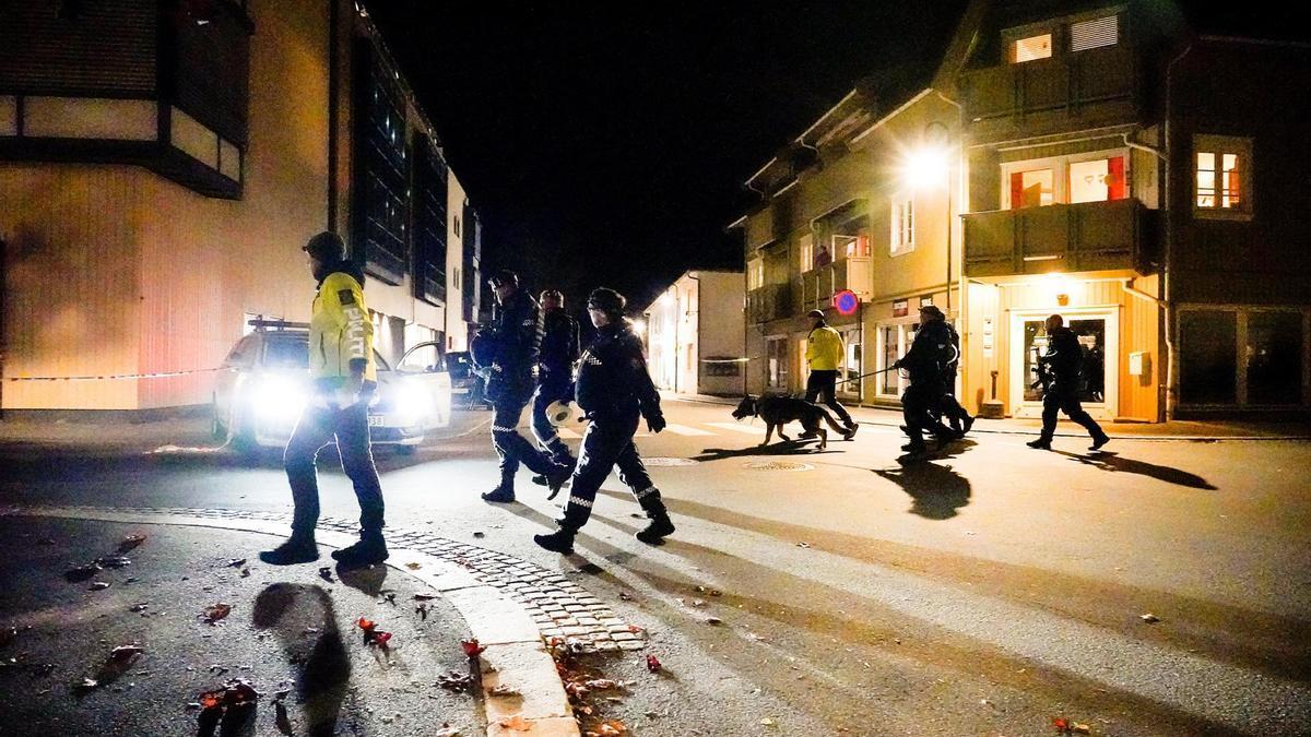 La Policía noruega está investigando el ataque en Kongsberg