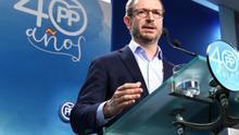 El Partido Popular rectifica el currículum de Javier Maroto después de reconocer que carece de un máster que aparecía en la web del partido