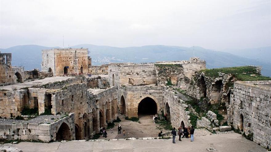 Las autoridades sirias conmemoran la reconquista del Crac de los Caballeros