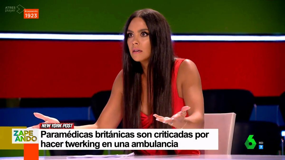 Cristina Pedroche en 'Zapeando'