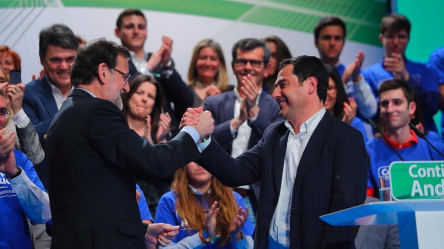 Rajoy y Moreno Bonilla / Foto: PP-A