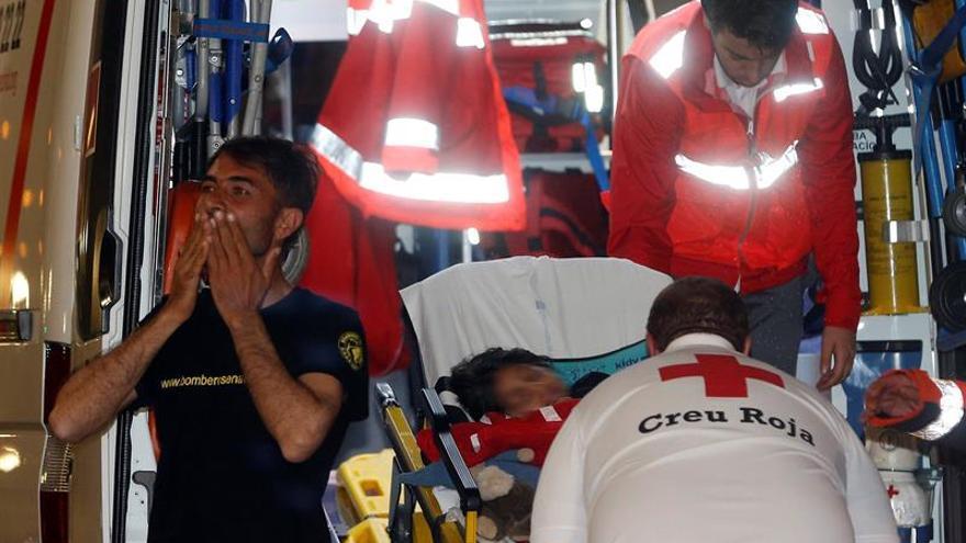 Osman despierta ya junto a su padre en el hospital La Fe de Valencia