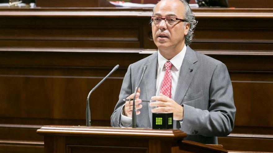 El consejero de Sanidad del Gobierno de Canarias, Jesús Morera / EP