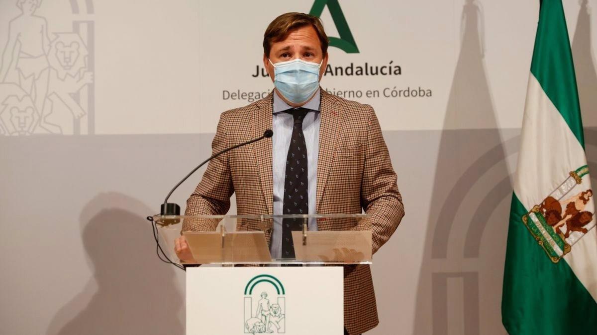 El delegado del Gobierno andaluz en Córdoba, Antonio Repullo.
