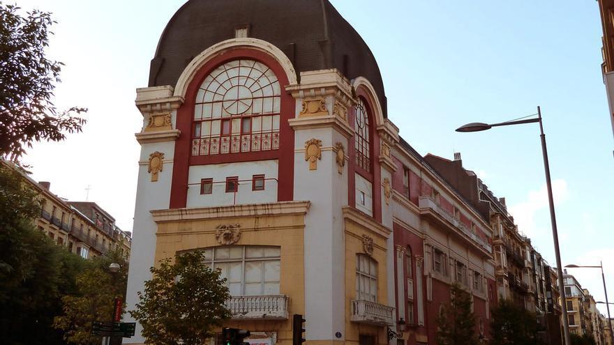 El Palacio Bellas Artes de San SEbastián.