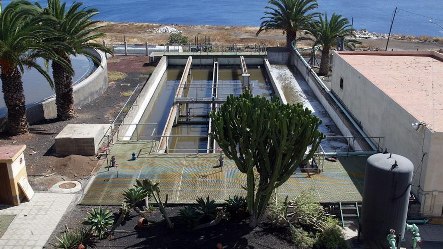 Depuradora de Santa Cruz de Tenerife / Foto cedida